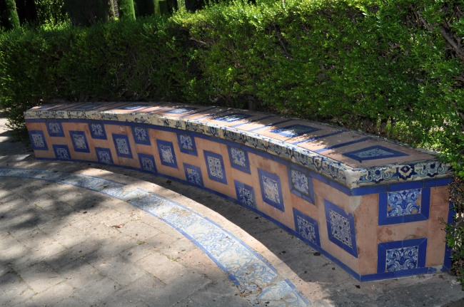 Tiles are everywhere! Alcazar