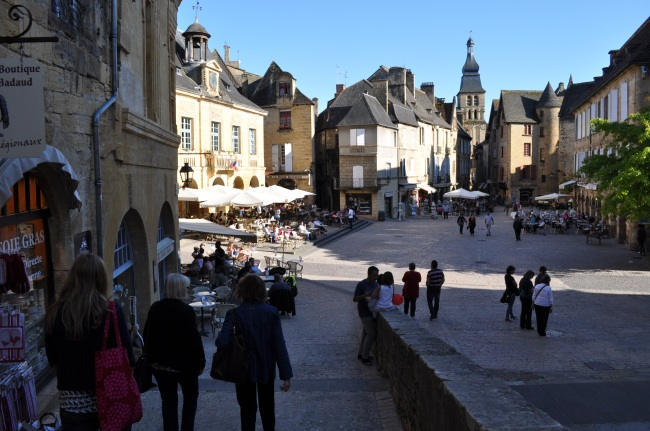 The main square in Sarlat