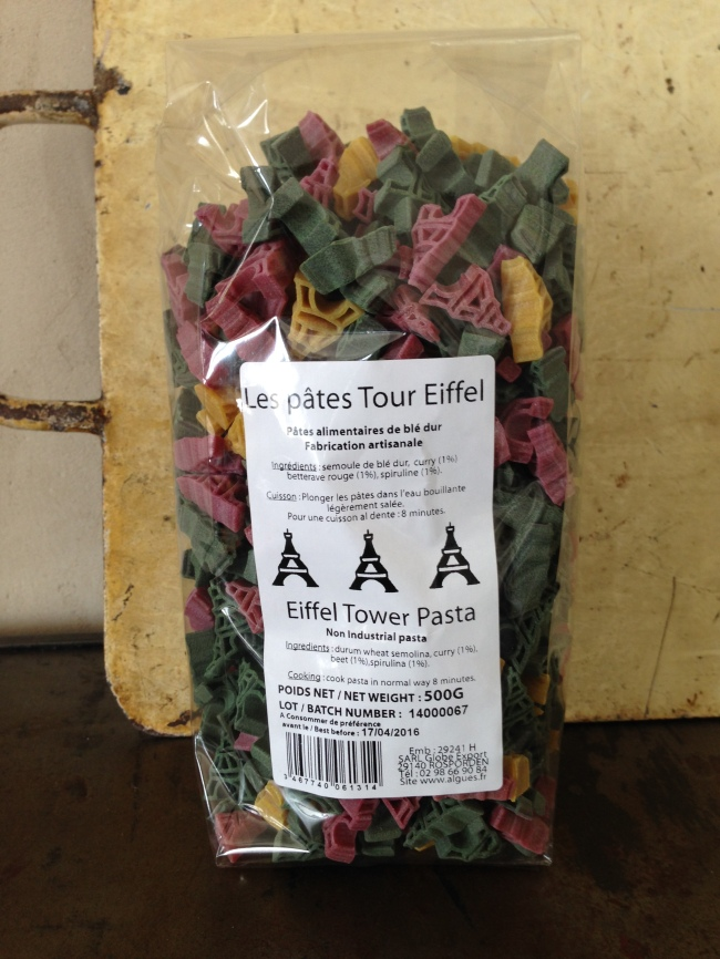 Eiffel Tower pasta!